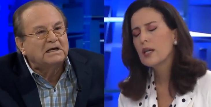 """VIDEO) Luis Nava a Sol Carreño: """"Usted también trabajó para ..."""